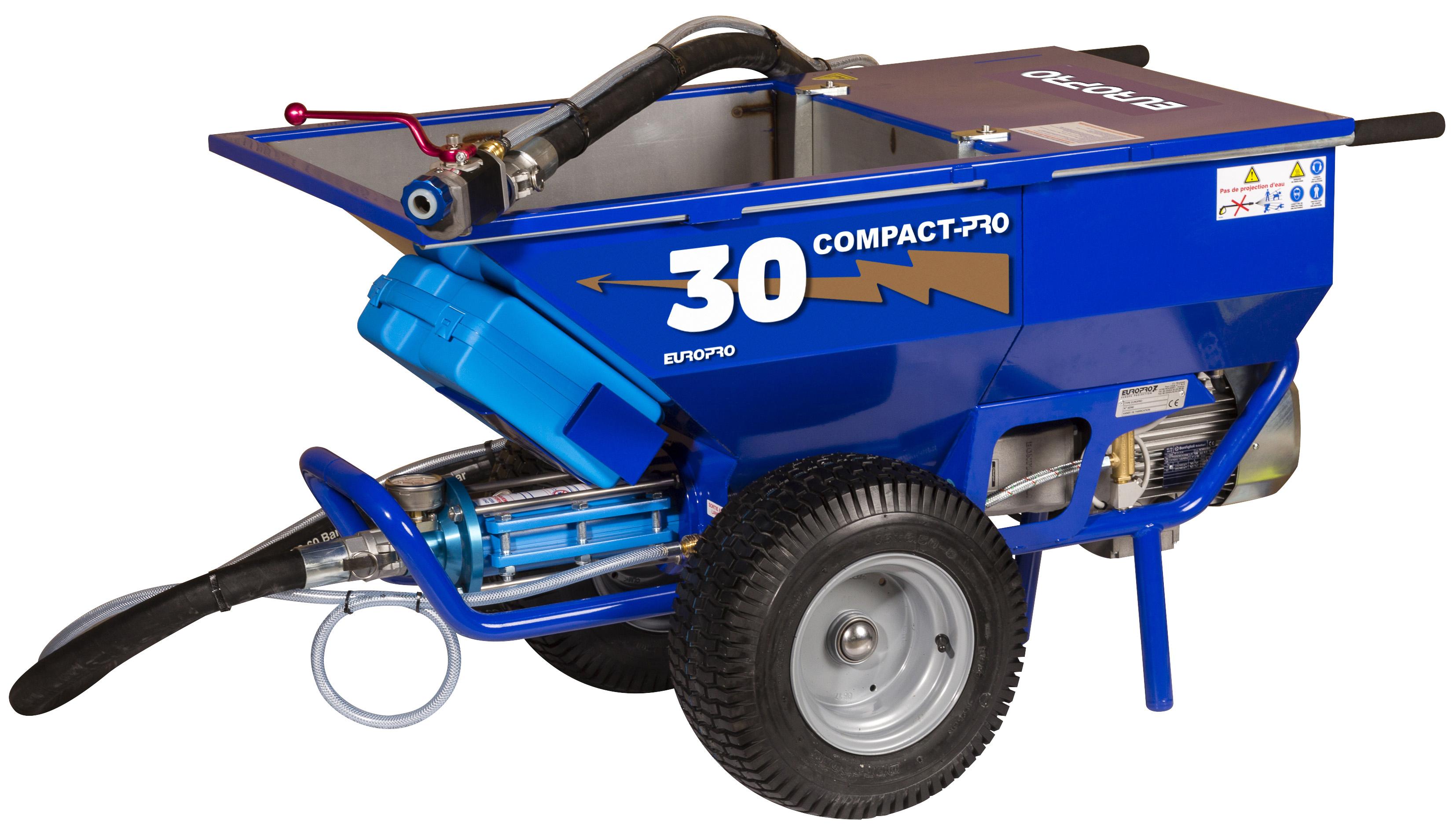 machine enduire compact pro 30 version mortier. Black Bedroom Furniture Sets. Home Design Ideas